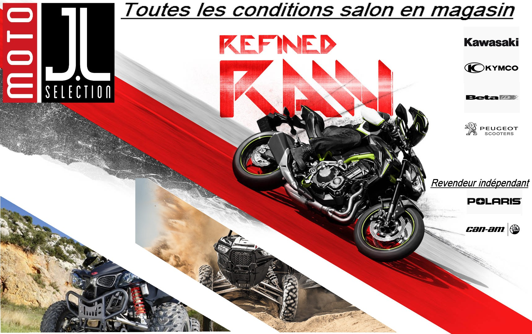 Conditions salon chez moto jl s lection moto jl selection for Reduction salon de la moto